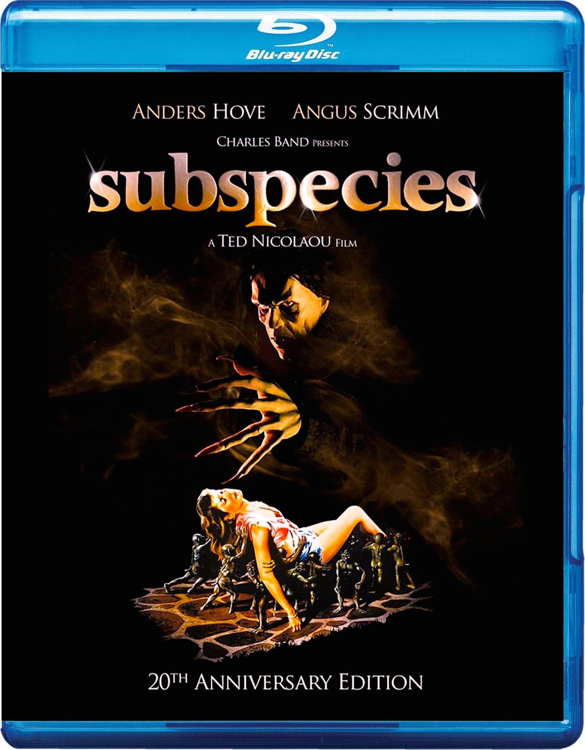 Resultado de imagem para Subspecies (1991) bluray