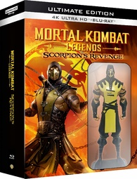 Mortal Kombat Legends Scorpion S Revenge 4k Blu Ray Release Date