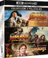 Jumanji / Jumanji: Welcome to the Jungle / Jumanji: The Next Level 4K (Blu-ray)