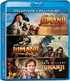 Jumanji / Jumanji: Welcome to the Jungle / Jumanji: The Next Level / (Blu-ray)