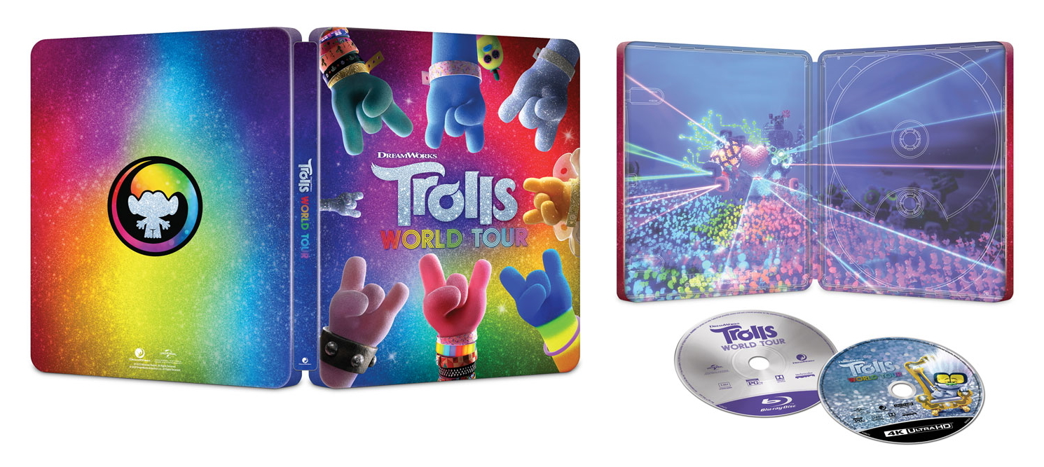 Trolls World Tour 4K (Blu-ray)