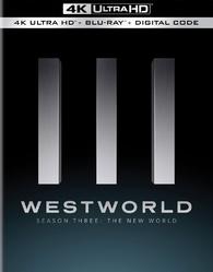 Westworld: Season Three 4K (Blu-ray) Temporary cover art