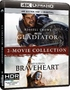 Gladiator/Braveheart 2-Movie Collection 4K (Blu-ray)