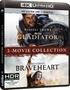 Gladiator/Braveheart 2-Movie Collection 4K (Blu-ray)