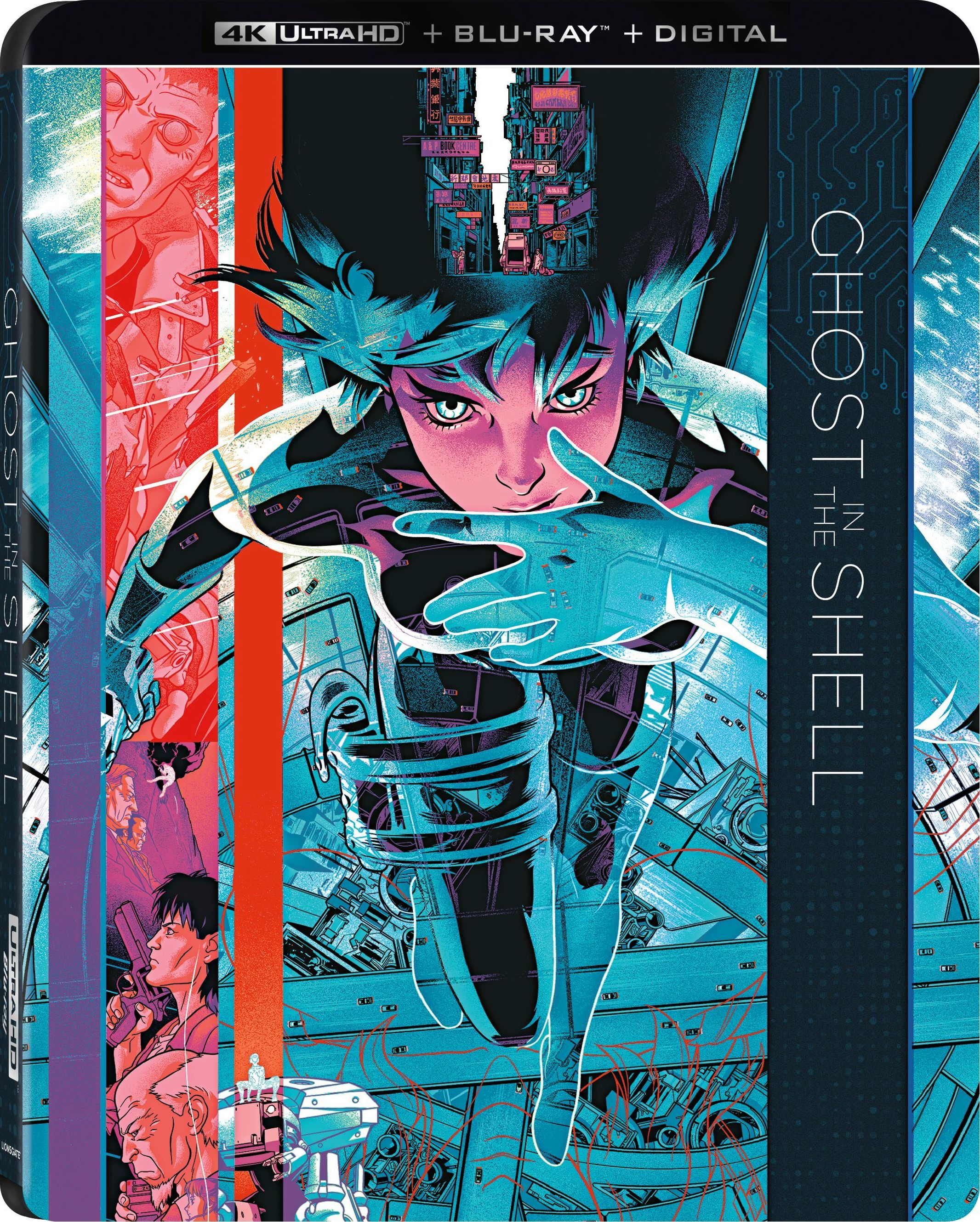 Ghost in the Shell 4K (Blu-ray)
