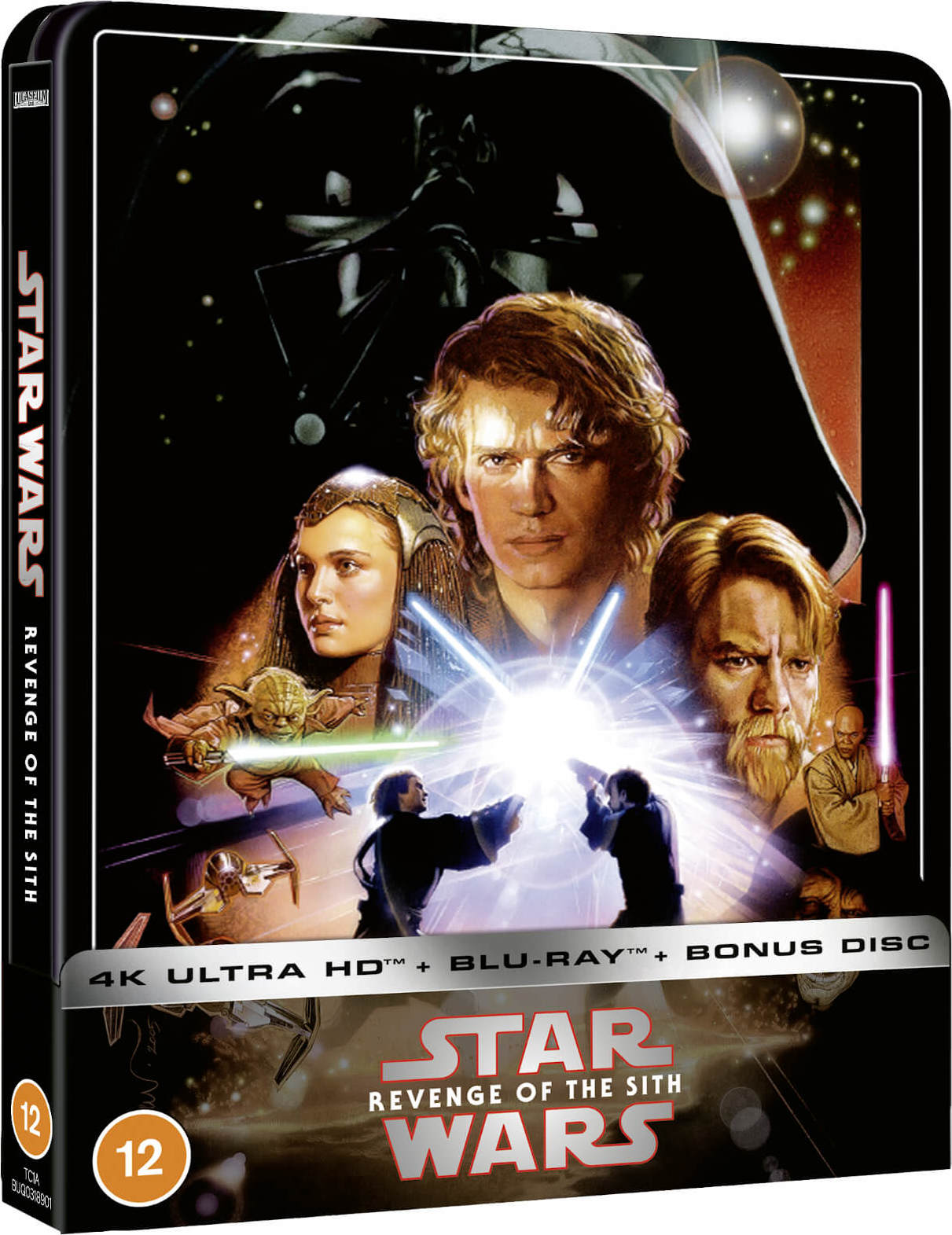 Star Wars Episode Iii Revenge Of The Sith 4k Blu Ray Release Date October 12 2020 Zavvi Exclusive Steelbook United Kingdom