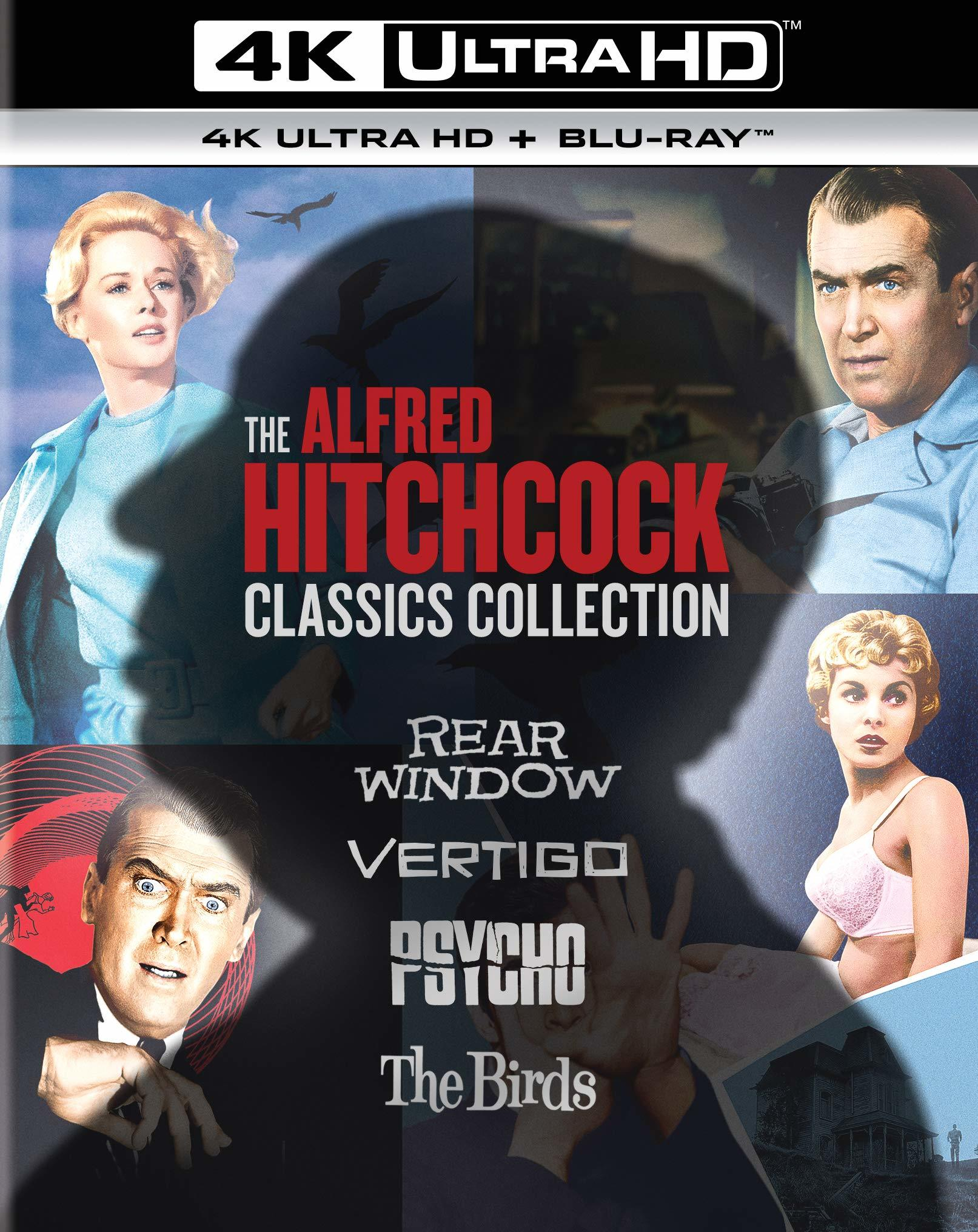The Alfred Hitchcock 4K UHD-BD Classics Collection