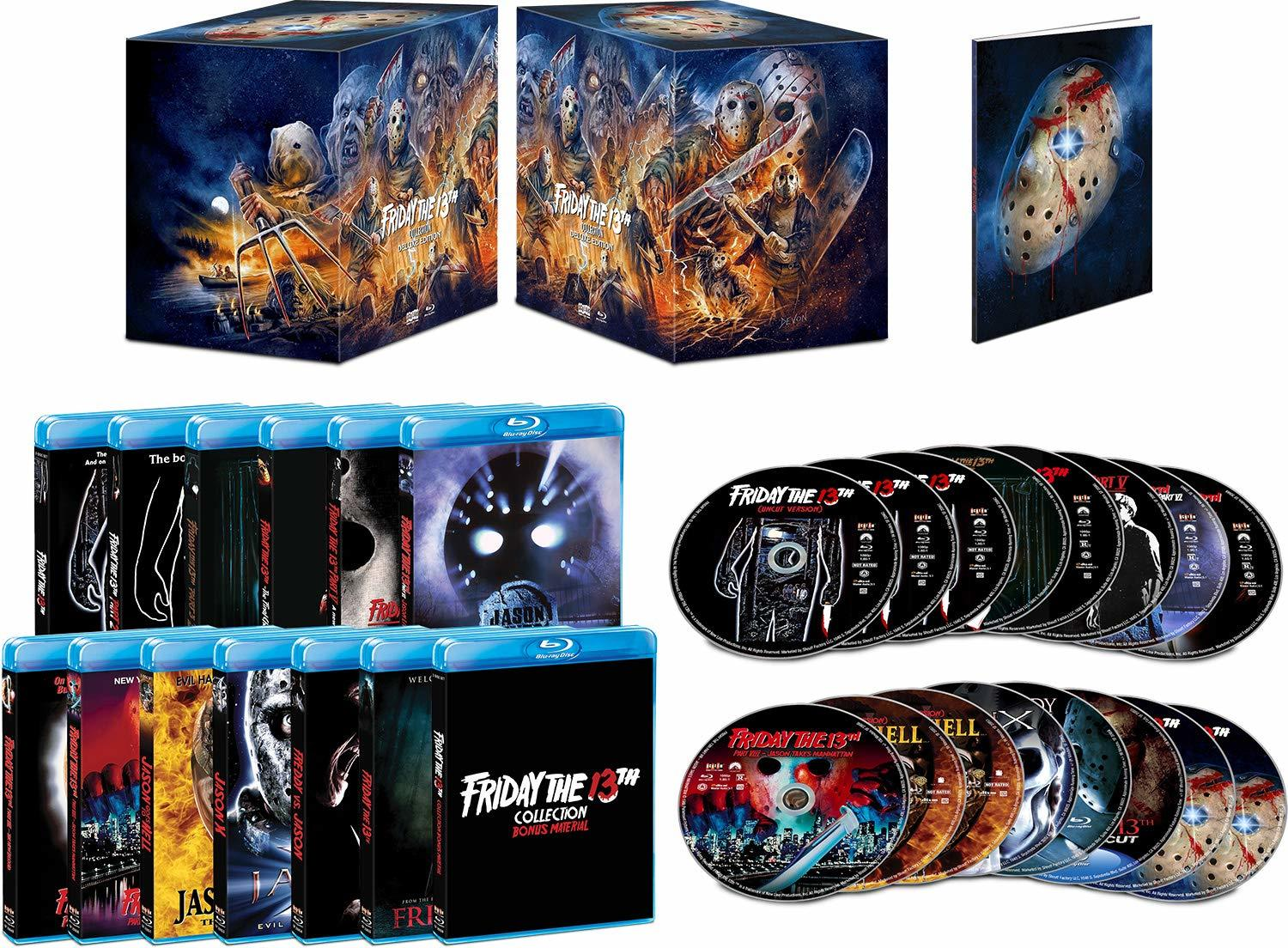 Friday the 13th Collection (Blu-ray)