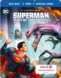 Superman: Man of Tomorrow (Blu-ray) Temporary cover art