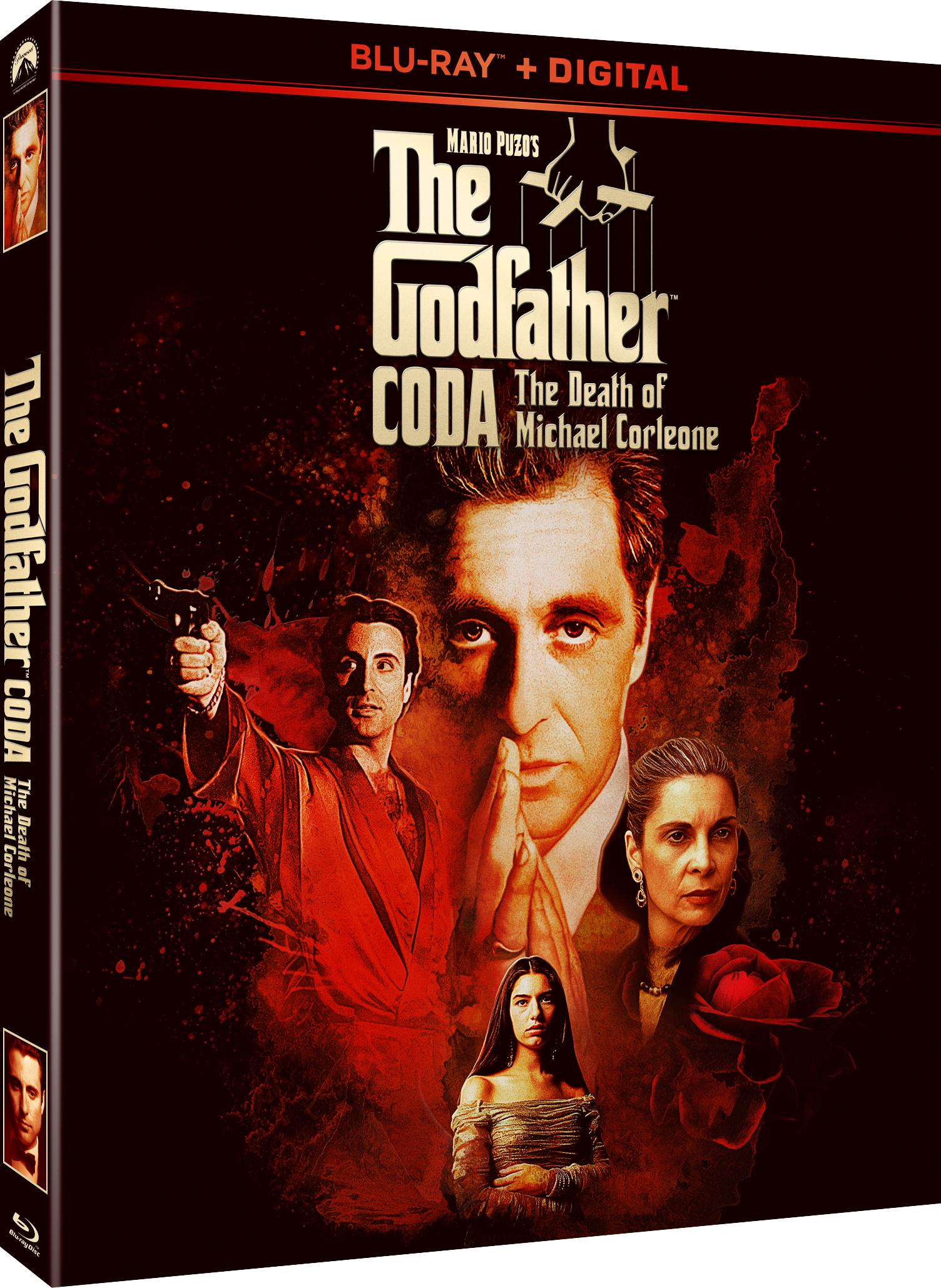 The Godfather Coda The Death Of Michael Corleone Blu Ray
