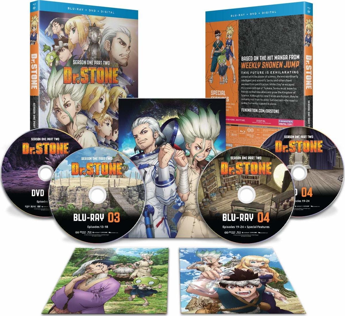 Dr Stone Season One Part Two Blu Ray Release Date December 1 2020 Blu Ray Dvd Digital