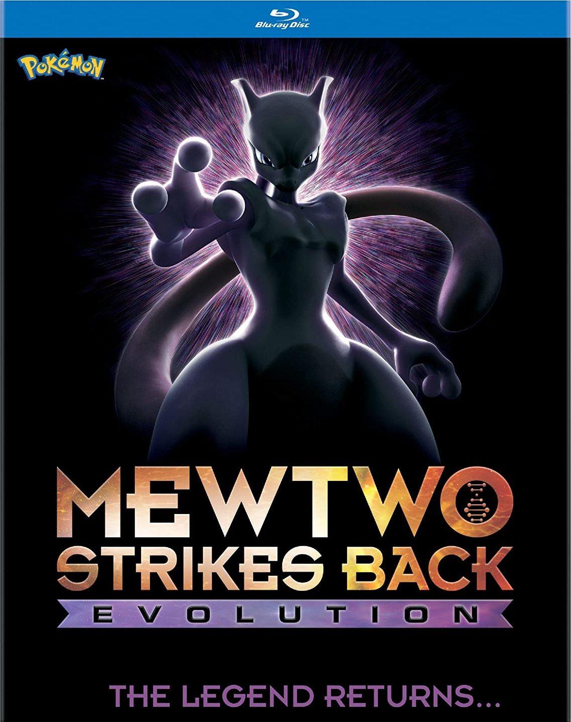 Pokémon: Mewtwo Strikes Back - Evolution (Blu-ray)