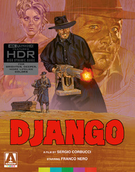 Django 4K + Texas, Adios (Blu-ray)