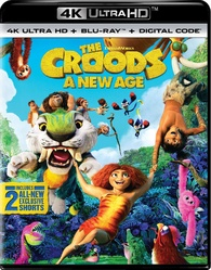 The Croods: A New Age 4K (Blu-ray) Temporary cover art