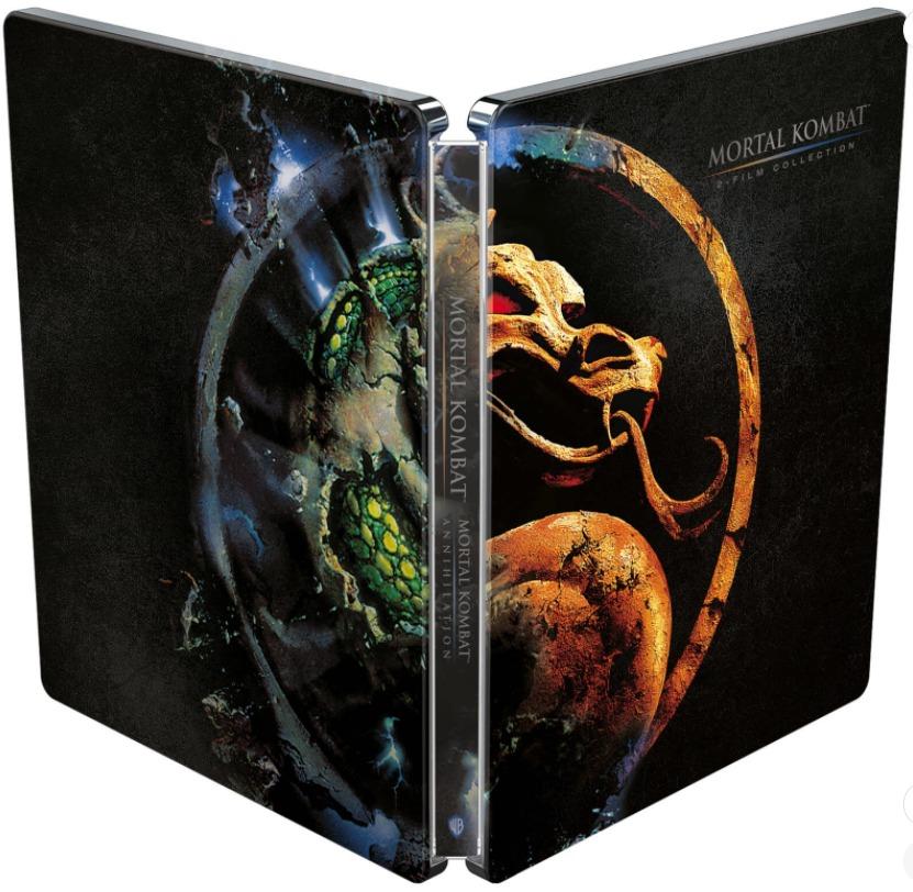 Mortal Kombat 2-Film Collection (Blu-ray)