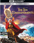 The Ten Commandments 4K (Blu-ray)
