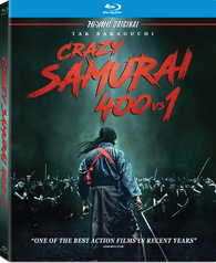 Crazy Samurai: 400 vs. 1 (Blu-ray)