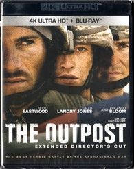 The Outpost 4K (Blu-ray) Temporary cover art