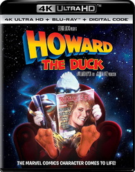 Howard the Duck 4K (Blu-ray) Temporary cover art