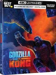Godzilla vs. Kong 4K (Blu-ray) Temporary cover art