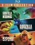 Godzilla vs. Kong / Godzilla: King of the Monsters / Kong: Skull Island (Blu-ray)