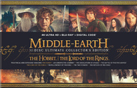 Middle Earth 31-Disc Ultimate Collector's Edition 4K (Blu-ray) Temporary cover art