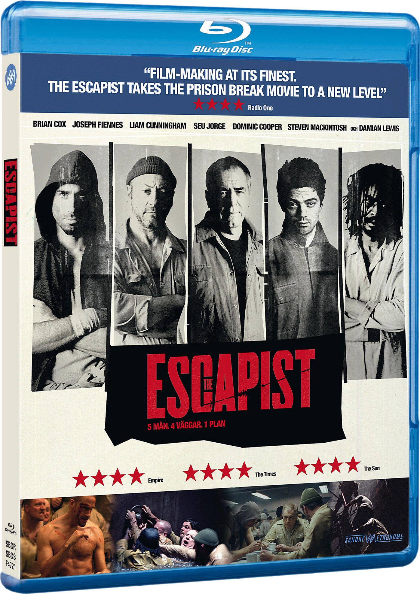 The Escapist Blu Ray Sweden