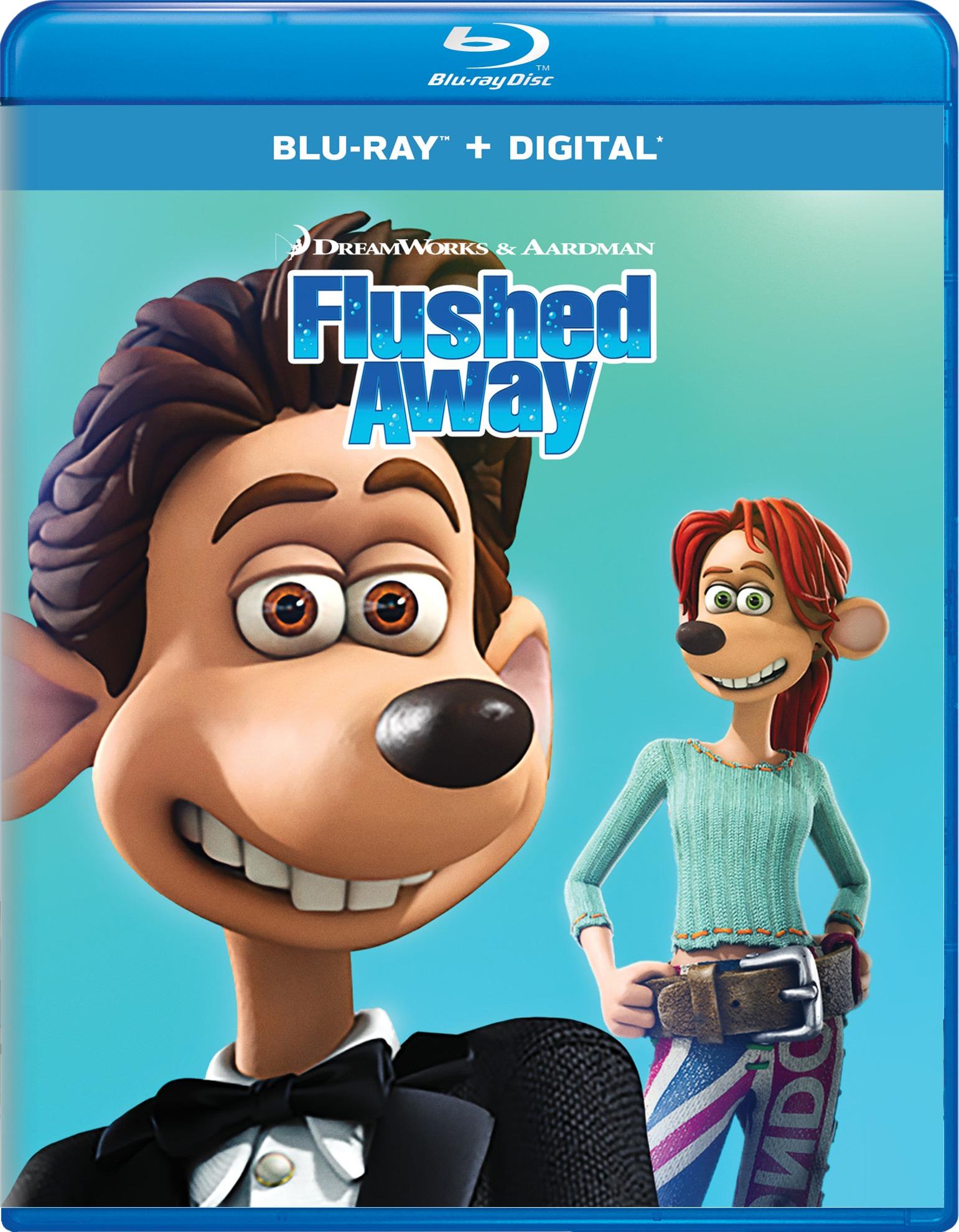 Flushed Away (Blu-ray)(Region Free)(Pre-order / Jun 4)