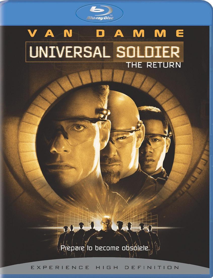Universal Soldier - The Return (1999) | Blu-ray Movie | Jean-Claude Van Damme