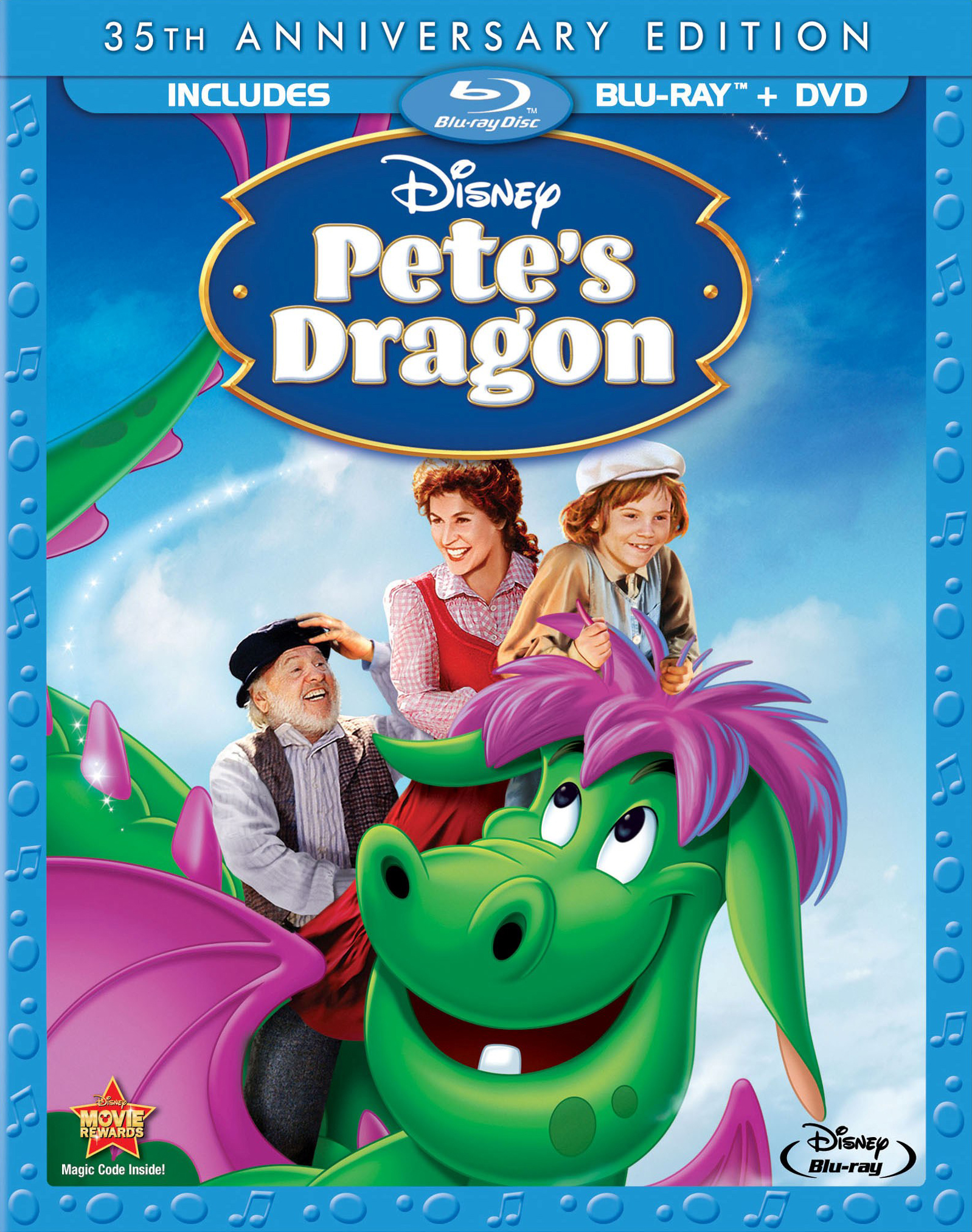 Blu-ray Pedro y el dragón Elliot (Pete's Dragon, 1977, Don Chaffey)