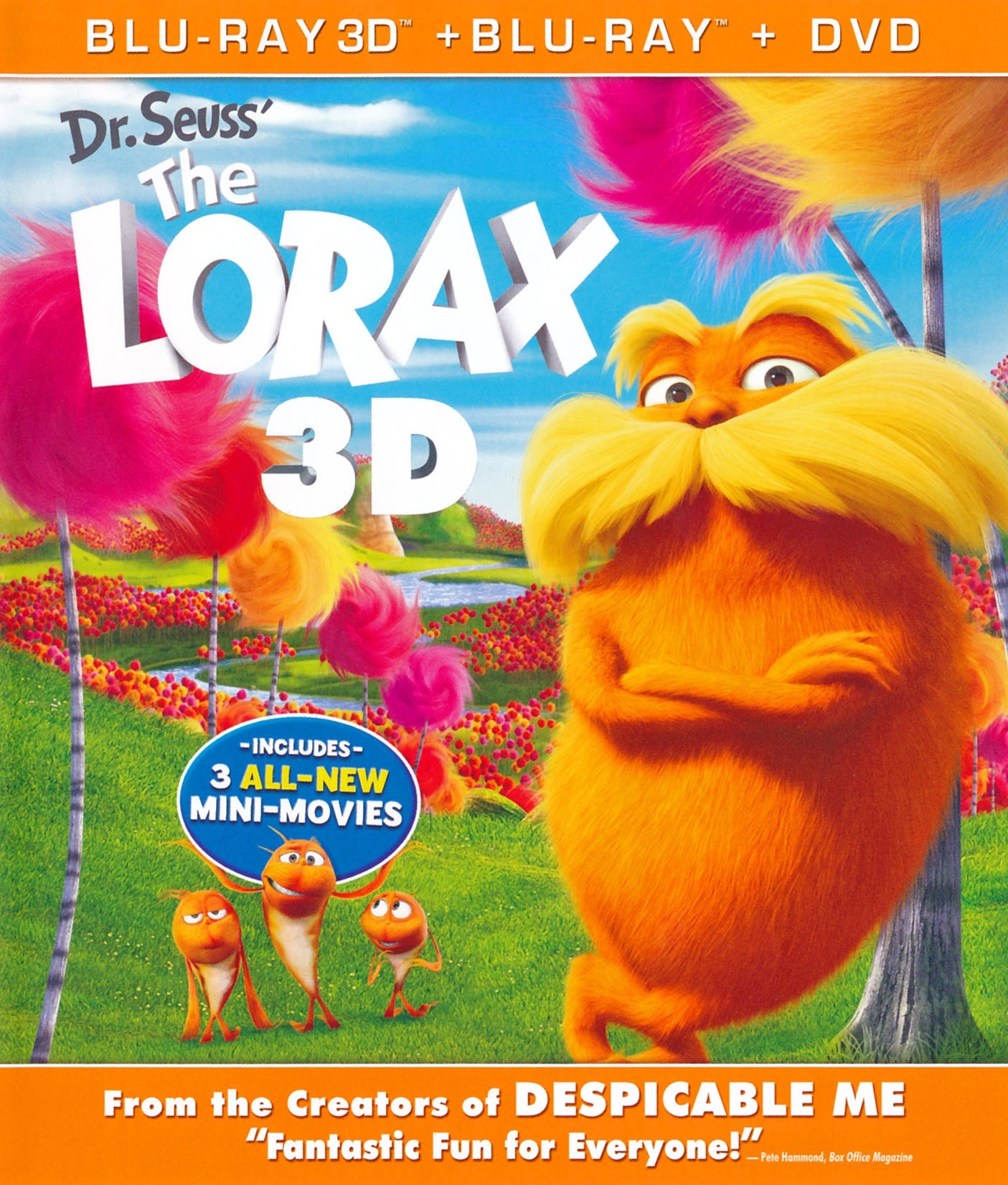 Dr Seuss The Lorax 2012 Blu Ray