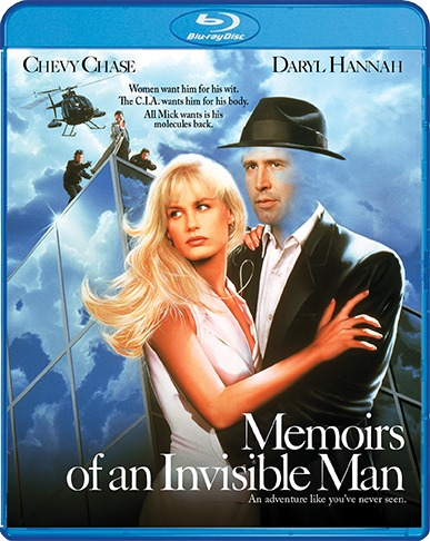 Memoirs of an Invisible Man (1992) Blu-ray