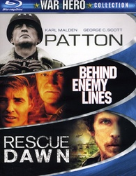 War Hero Collection Blu-ray: Patton, Behind Enemy Lines, Rescue Dawn