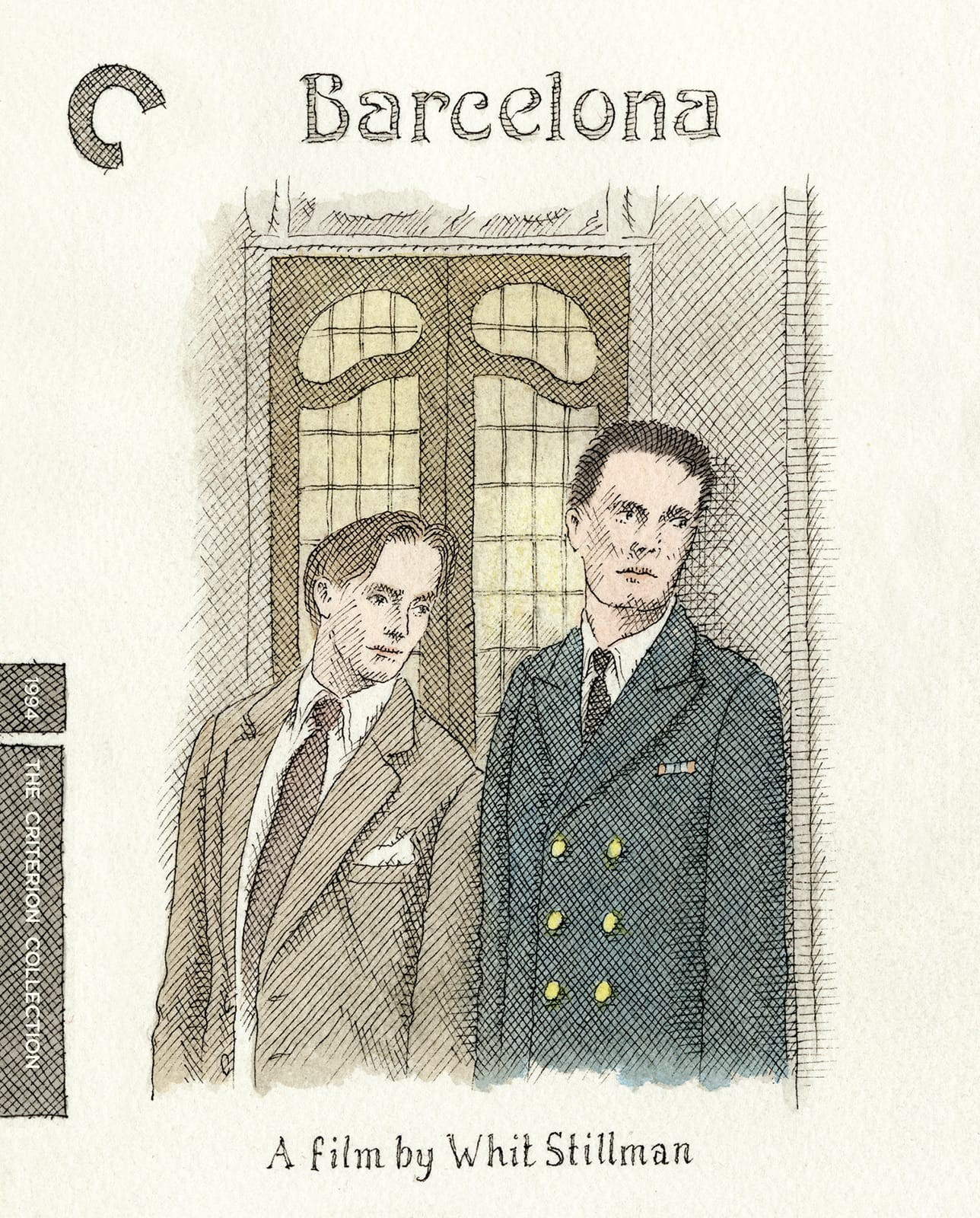 Barcelona (1994) The Criterion Collection Blu-ray