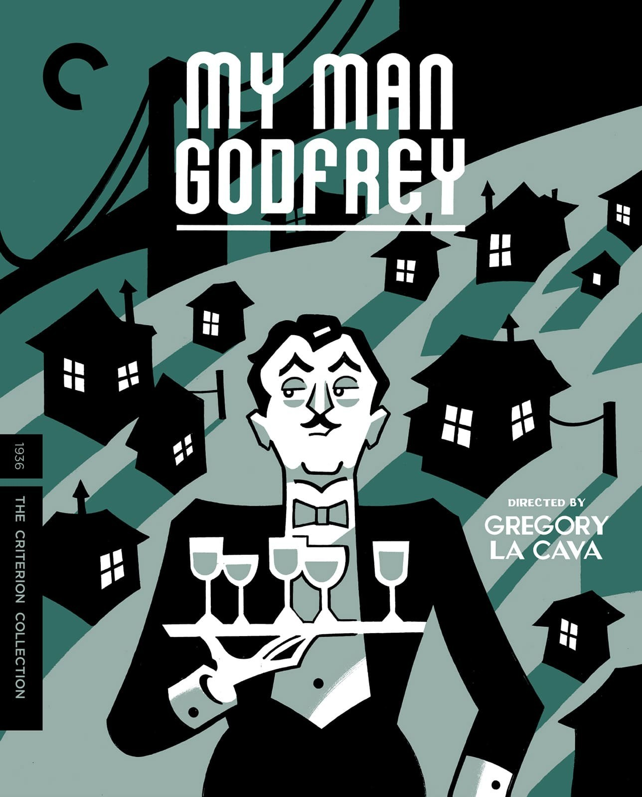 My Man Godfrey (The Criterion Collection)(Blu-ray)(Region A)