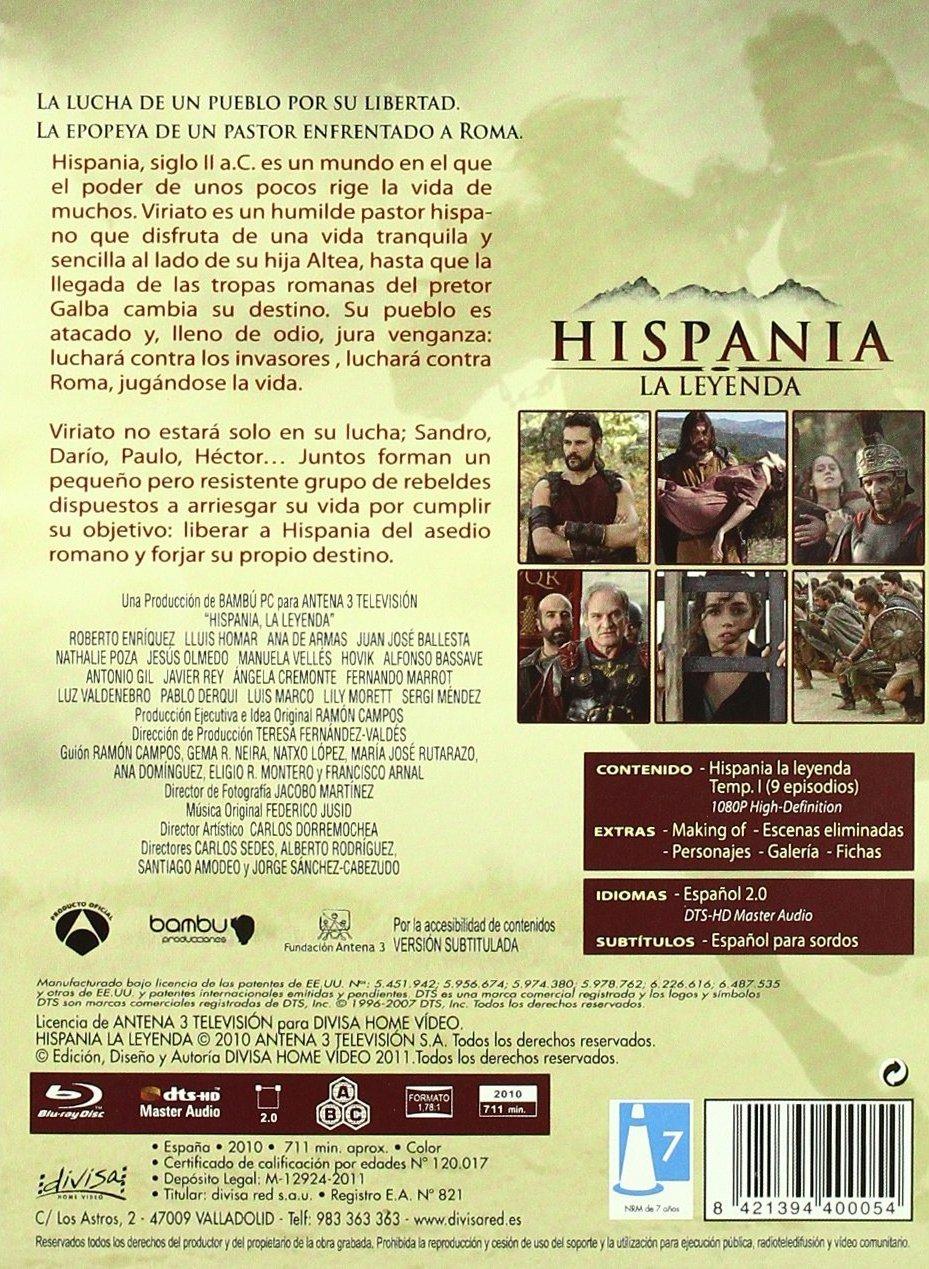 Hispania La Leyenda Full Movie hispania la leyenda: primera temporada blu-ray release date