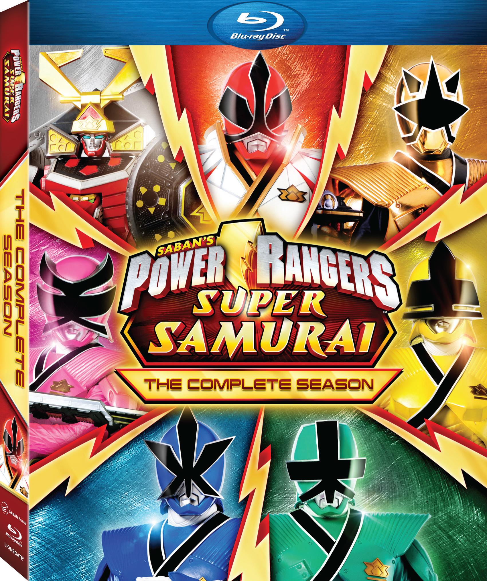 Power Rangers Samurai The Complete Season Blu Ray