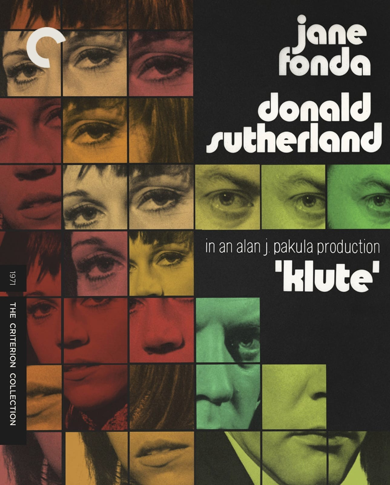 Klute (The Criterion Collection)(Blu-ray)(Region A)(Pre-order / Jul 16)