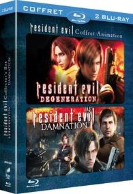 Resident Evil Degeneration Resident Evil Damnation Blu Ray