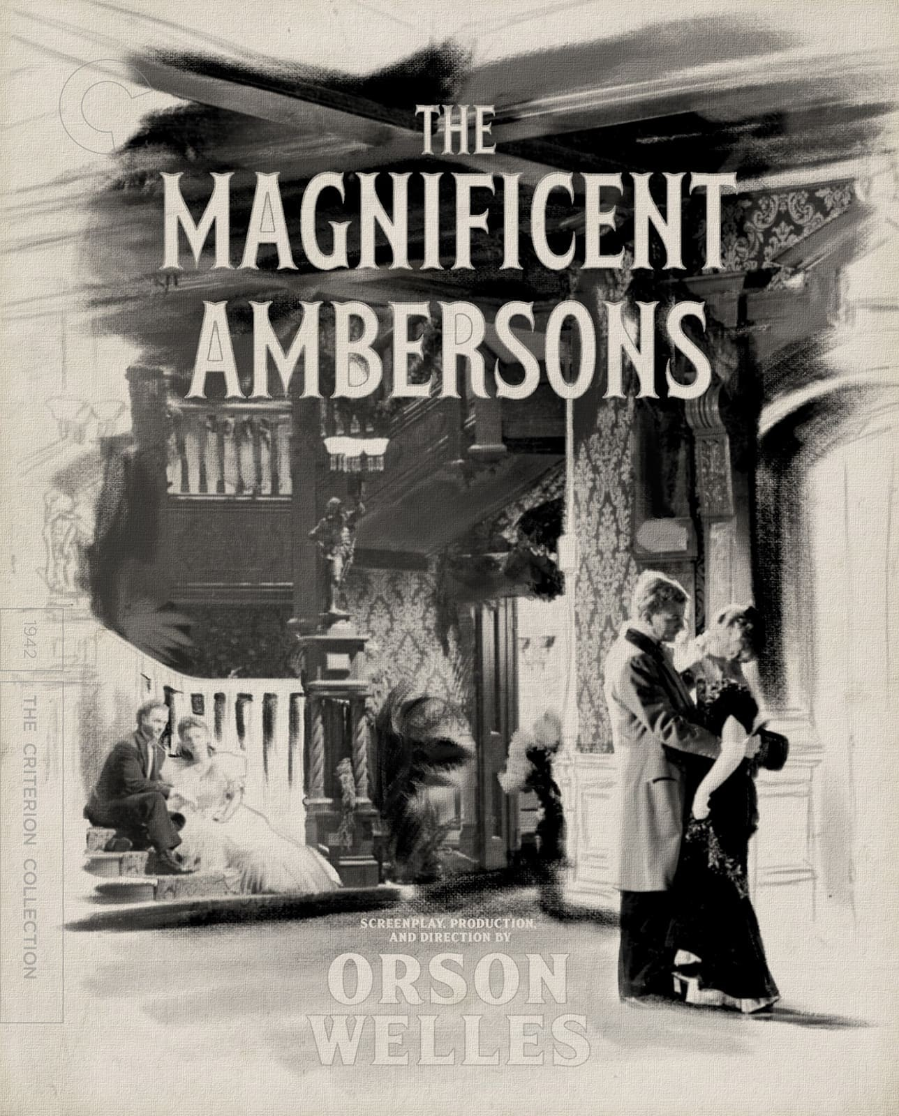 The Magnificent Ambersons (Digi Pack)(The Criterion Collection)(Blu-ray)(Region A)
