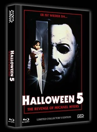 Halloween 5 Blu Ray.Halloween 5 The Revenge Of Michael Myers Blu Ray Limited