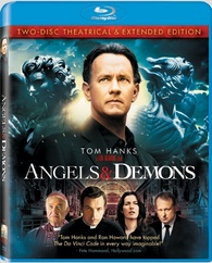 Angels And Demons Blu Ray Theatrical Extended Edition