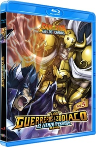 Saint Seiya: The Lost Canvas Blu-ray (Mexico)
