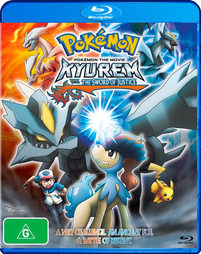 Pokémon the movie: kyurem vs. The sword of justice in cinemas.