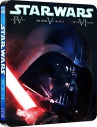 Star Wars Original Trilogy Blu Ray Release Date April 8 2013 Steelbook United Kingdom