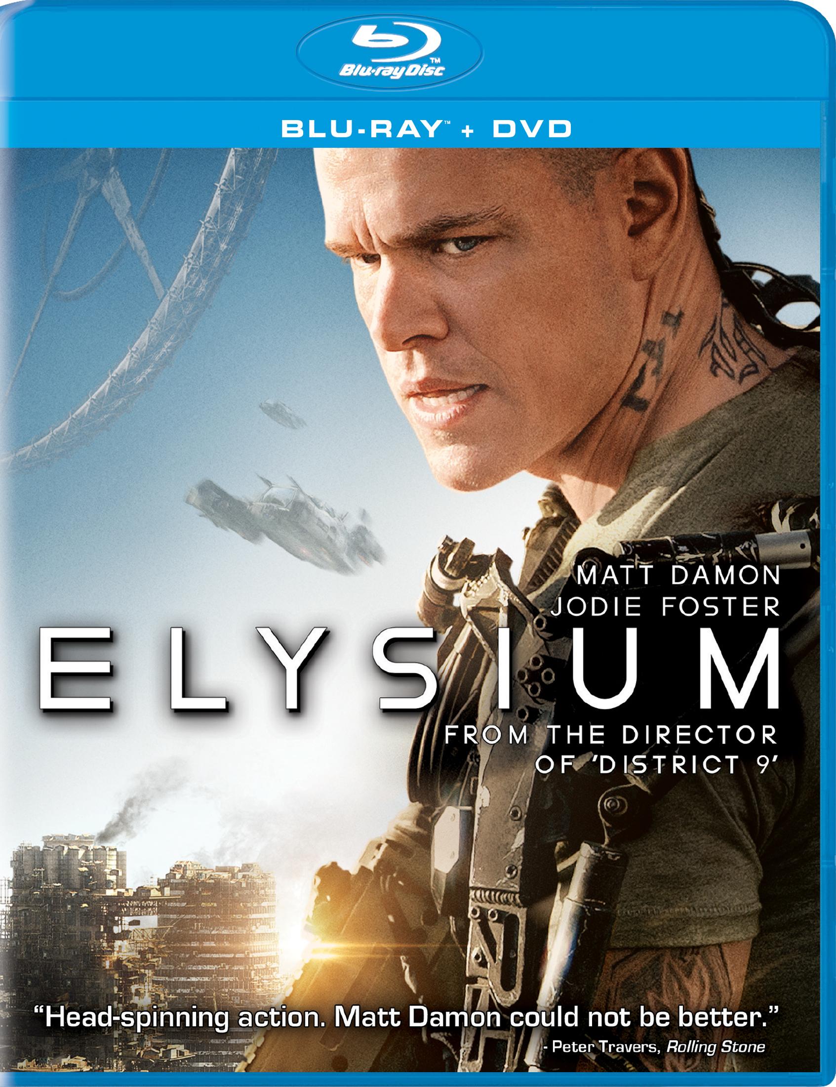 Elysium (2013) ORIGINAL Untouched DD 5.1CH 448Kbps Hindi Audio 351MB