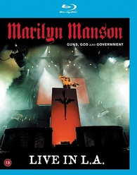 Marilyn Manson: Guns, God and Government, Live in L A  Blu-ray