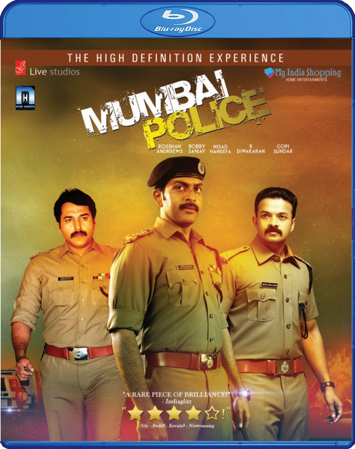Image result for Mumbai Police(2013)