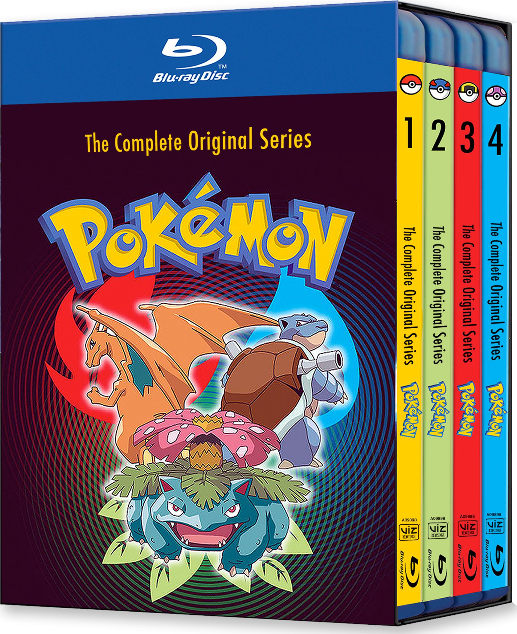 pokemon: the complete original series blu-ray