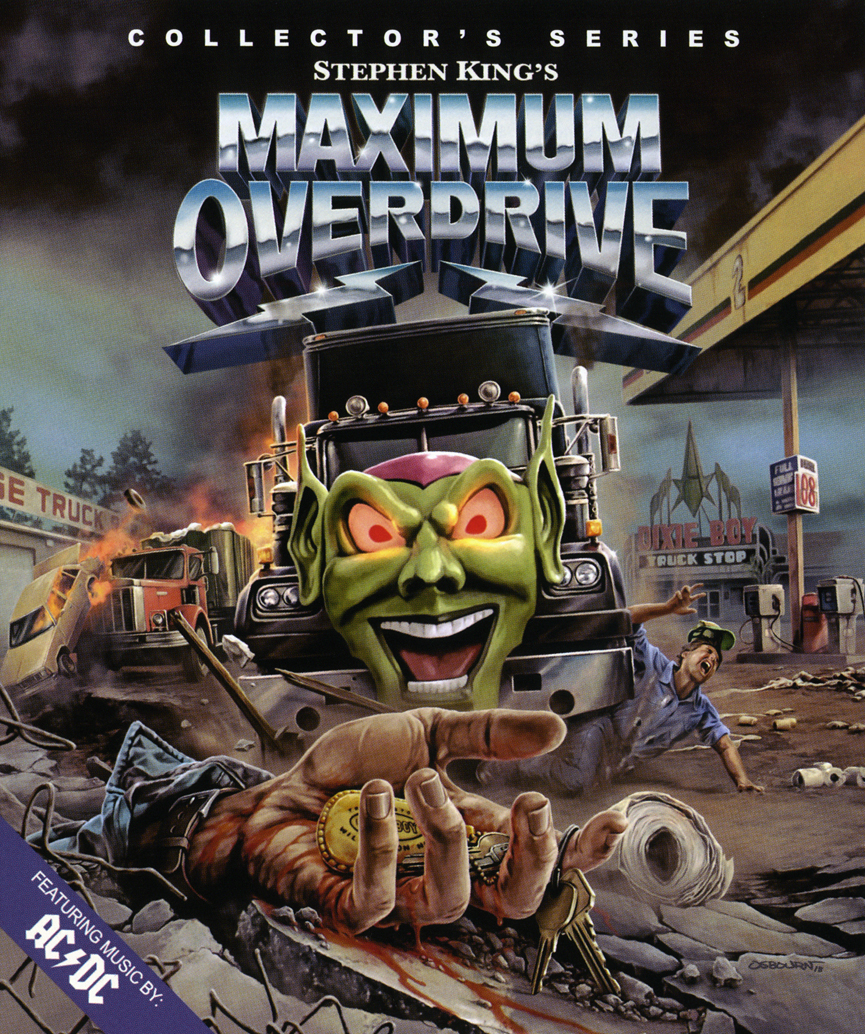 Maximum Overdrive (1986)(Blu-ray)(Region A)